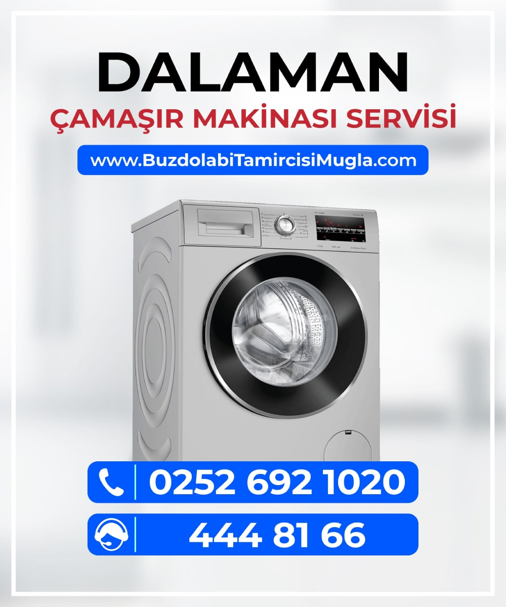 dalaman çamaşır makinesi servisi