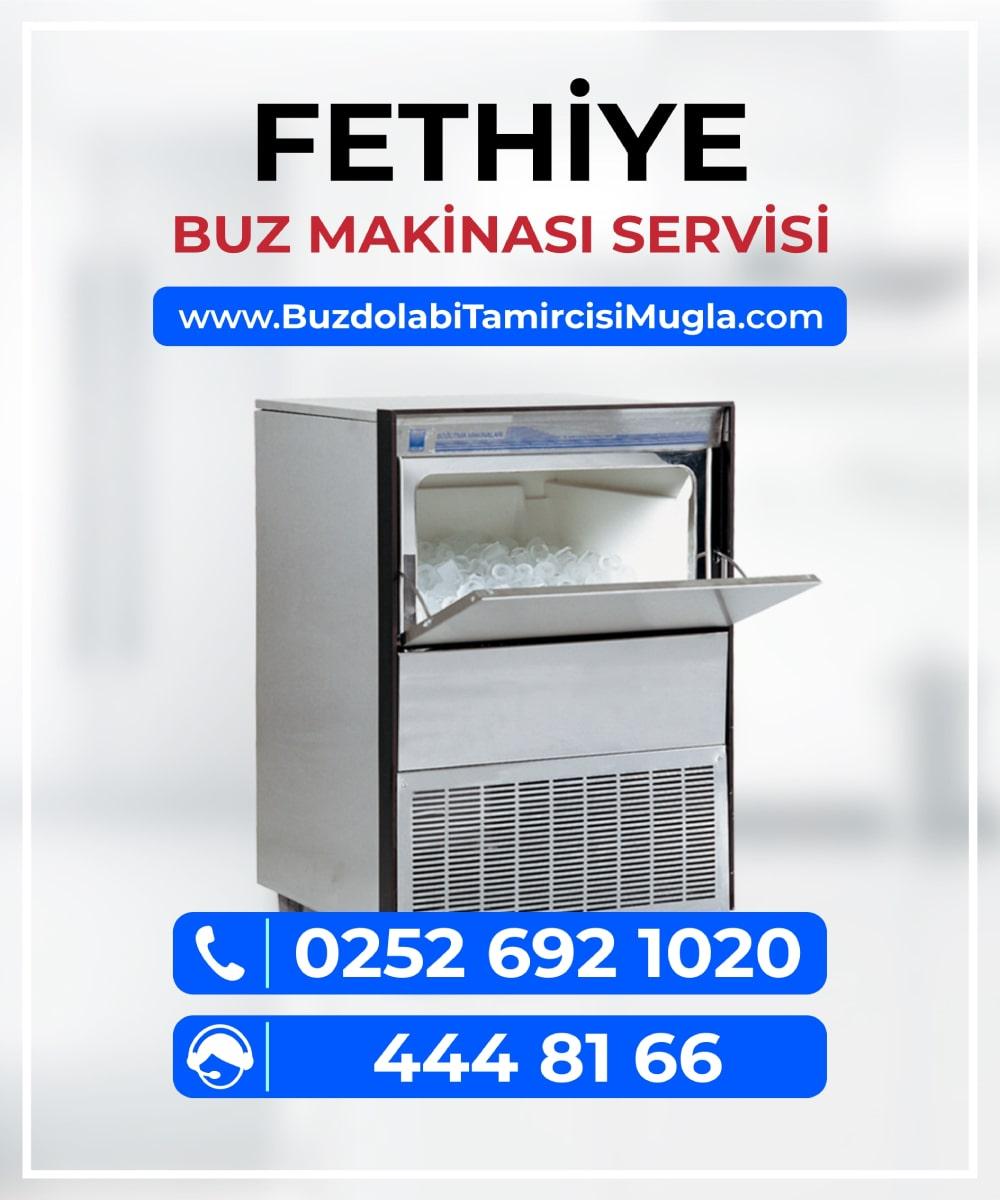 fethiye buz makinesi servisi