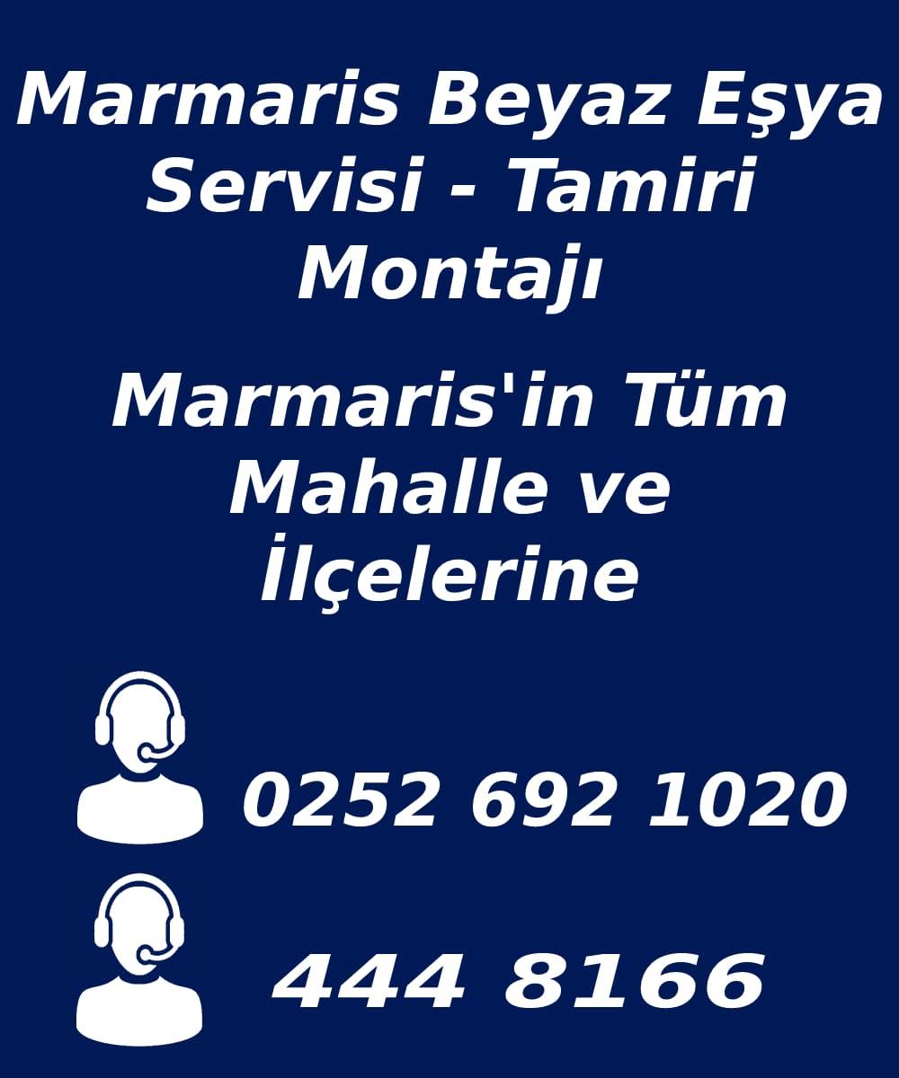 marmaris beyaz eşya servisi telefon numarası