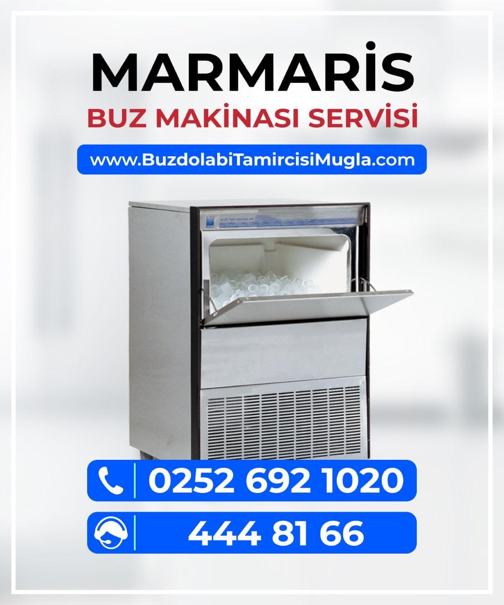 marmaris buz makinesi servisi