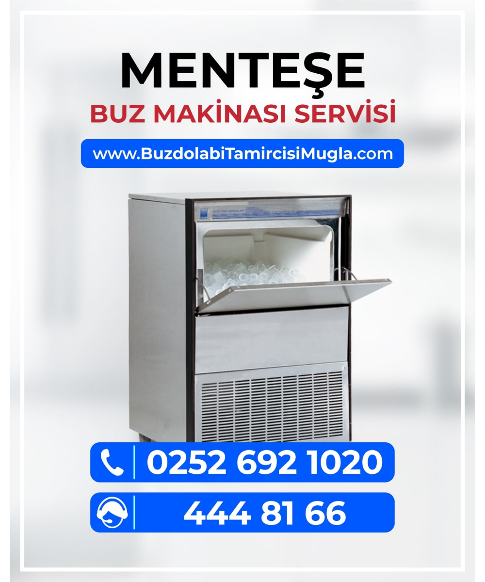 menteşe buz makinesi servisi