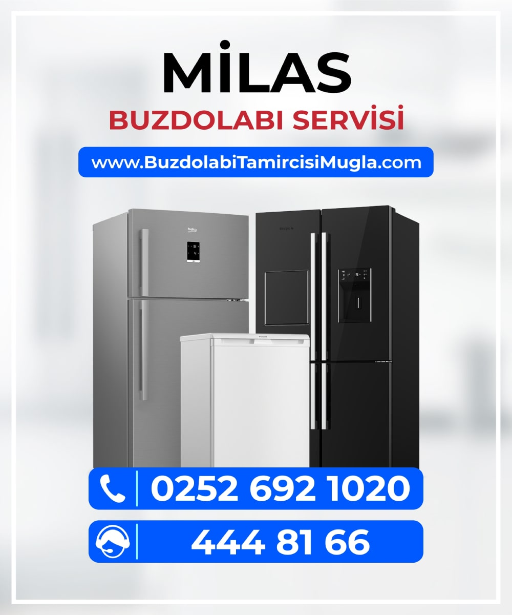 milas buzdolabı servisi