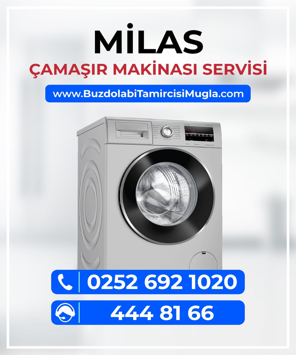 milas çamaşır makinesi servisi