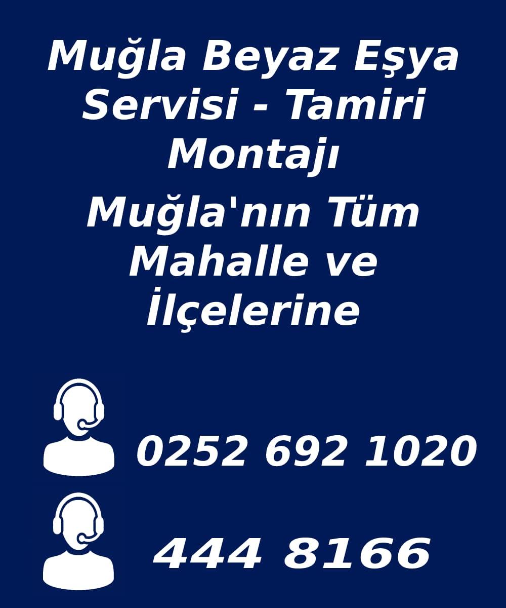 muğla beyaz eşya servisi telefon numarası