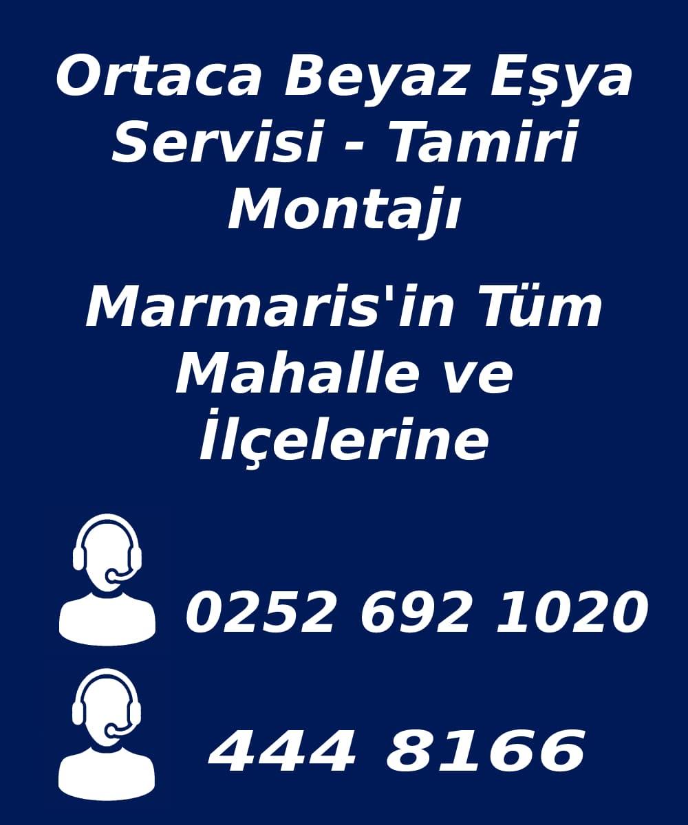 ortaca beyaz eşya servisi telefon numarası
